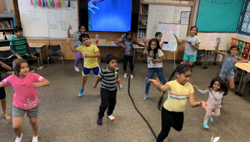BollyFusion Dance Class at Amador Elementary