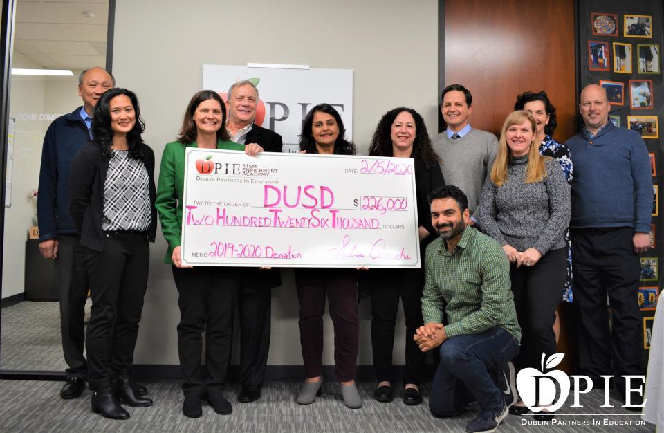 DPIE Board Members with DUSD Board Members